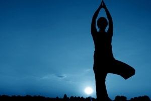 Moonlight Yoga Tree Pose Image Dreams, interpreting your bad dreams, learn what they mean!  Find out now FREE!