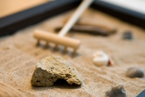Feng Shui Zen Rock Garden Image Love Feng Shui, feng shui for love, romance and marriage!  How to use Feng Shui in marriage.